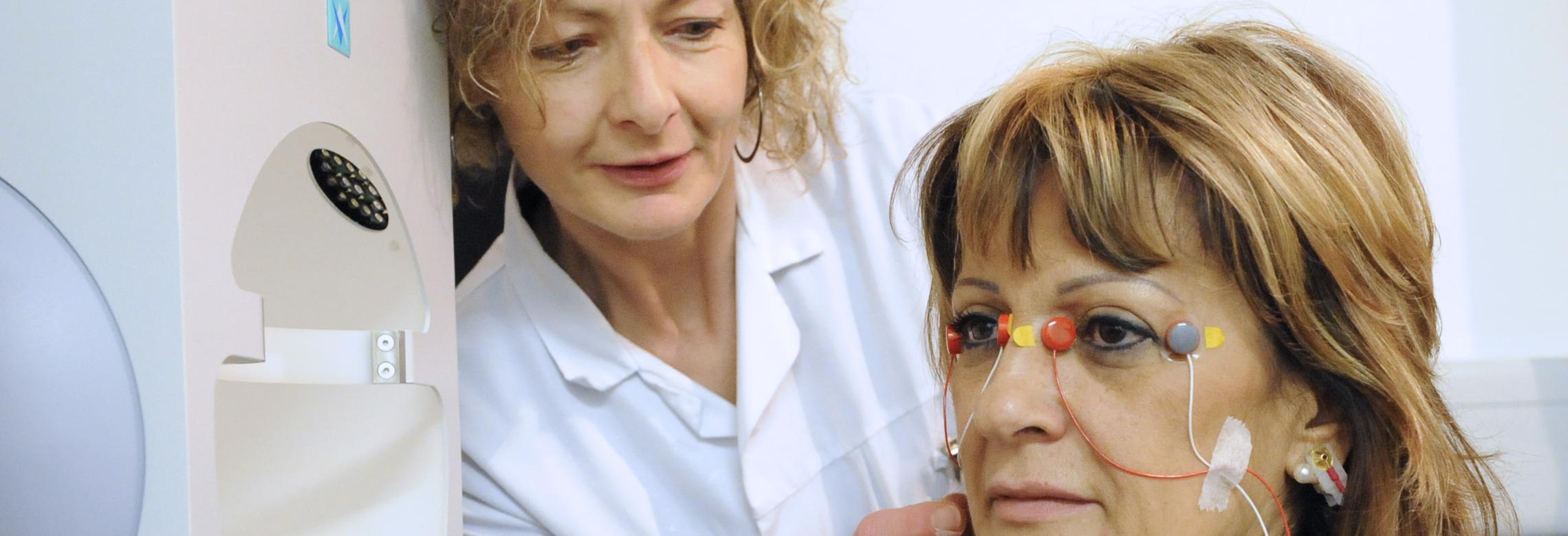 Examen de neuro-ophtalmologie