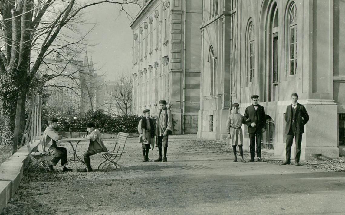 Photo historique de la Fondation Asile des aveugles