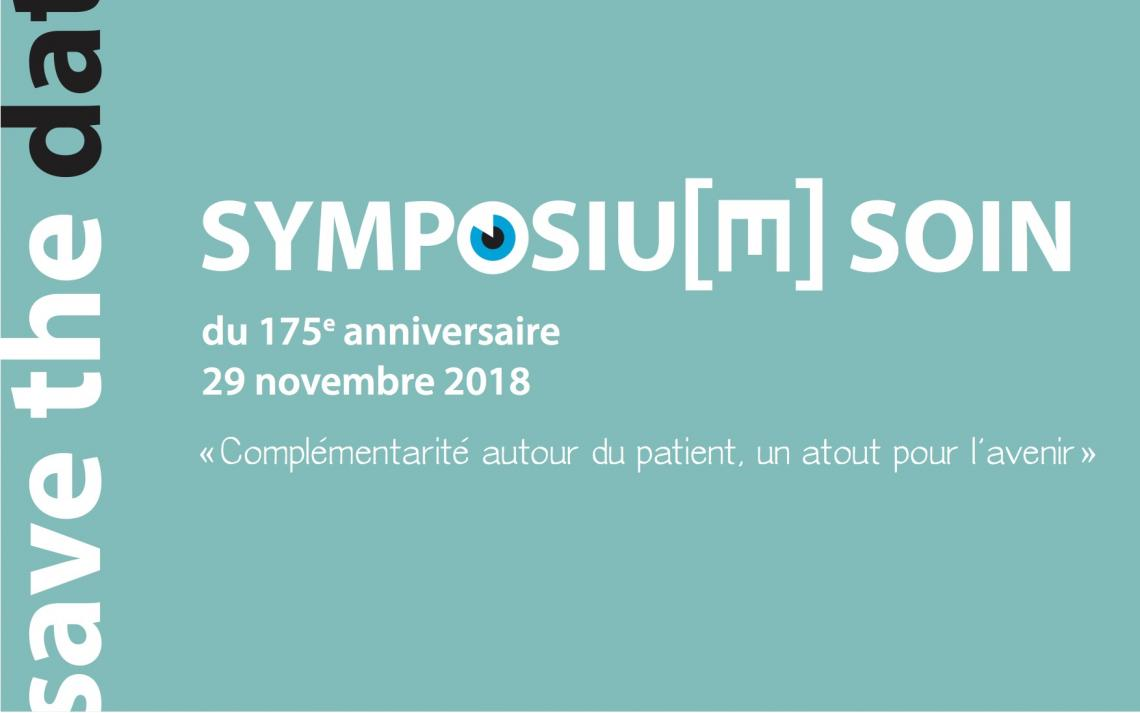 Image de la couverture du save the date du Symposium soin 2018