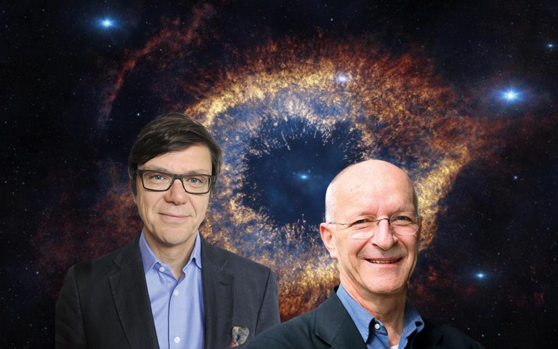 Portraits Thomas J. Wolfensberger et M. Claude Nicolier